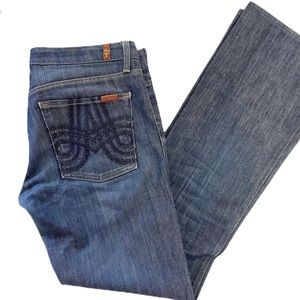 7 for All Mankind womens Jeans SZ 31 A poket